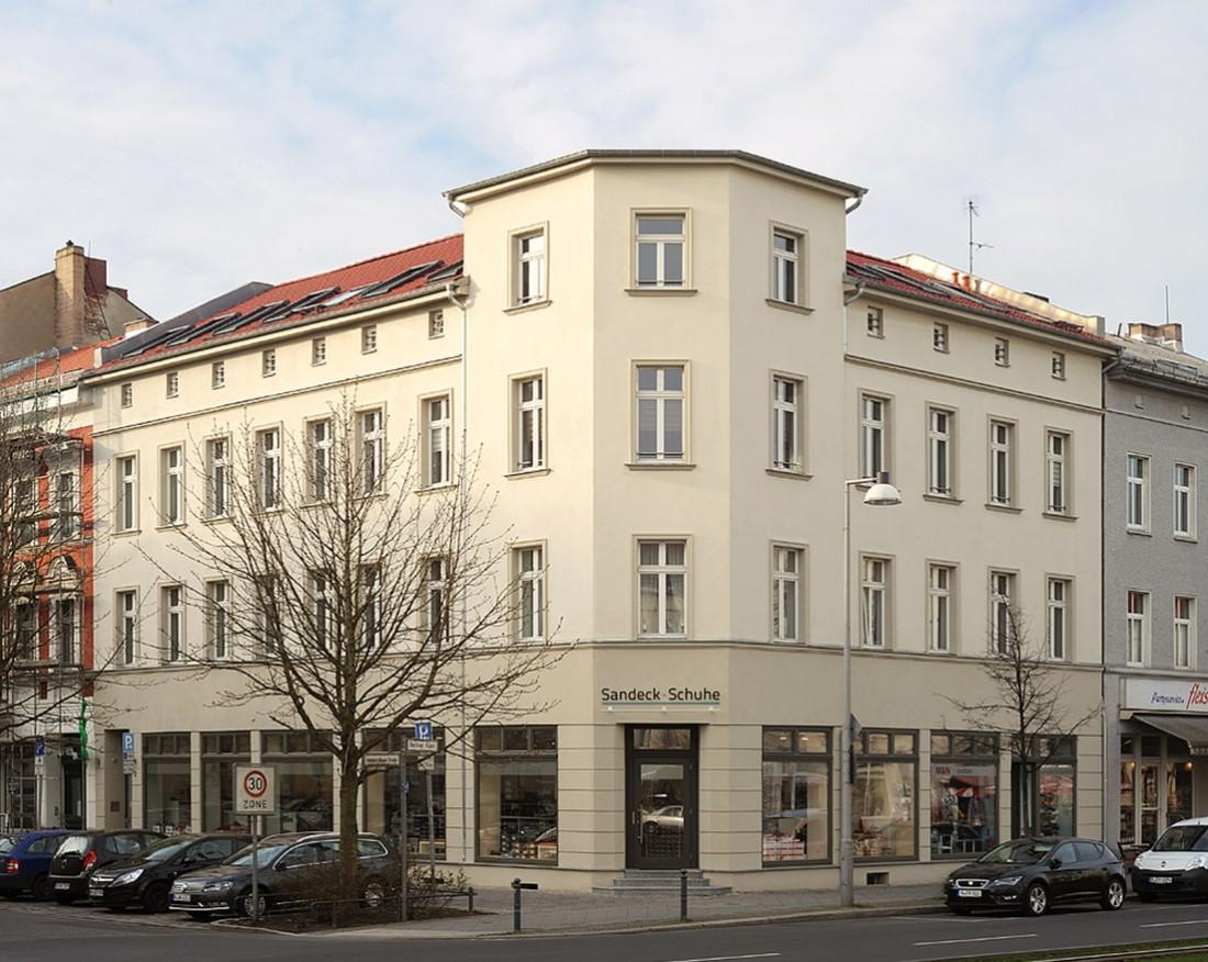 Berliner Allee 76 / Herbert-Baum-Straße 2