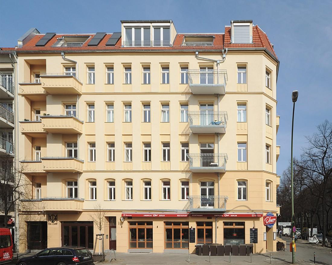 Boxhagener Straße 108 / Niederbarnimstraße 14